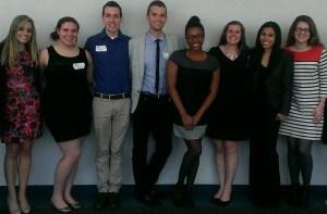 Hofstra's PRSSA leaders (spring 2014)