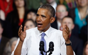 President Obama in Tennessee this week