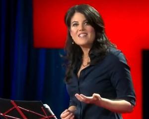 Monica Lewinsky presents her Ted talk on cyberbullying