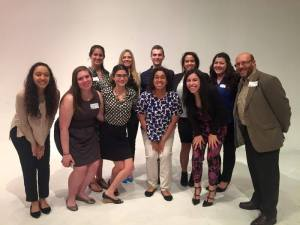 The PRSSA gang at their 2015 conference