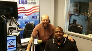 On the air with Glenn Vickers II of the East Hampton YMCA